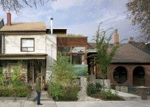 Enchanting modern urban residence: the Euclid Avenue House by Levitt Goodman Architects