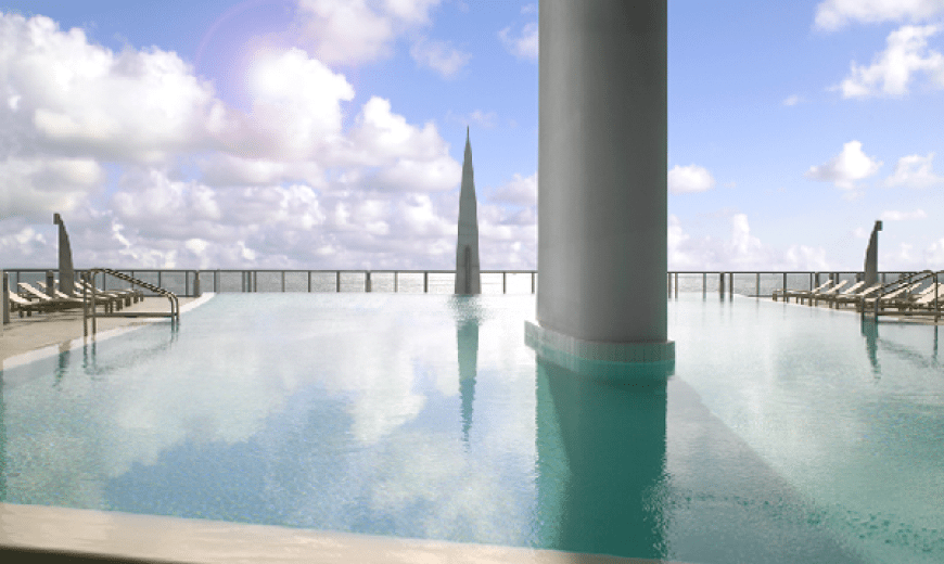Lavish Property in a 50-Storey Glass Tower in South Florida