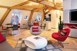 Sleek Apartment in Paris: Le Loft des Innocents by Frederic Flanquart