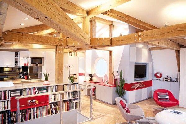 Le Loft des Innocents by Frederic Flanquart 2 Sleek Apartment in Paris: Le Loft des Innocents by Frederic Flanquart