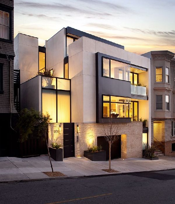 Russian Hill Residence by John Maniscalco Architecture 1 Contemporary House in California by John Maniscalco Architecture