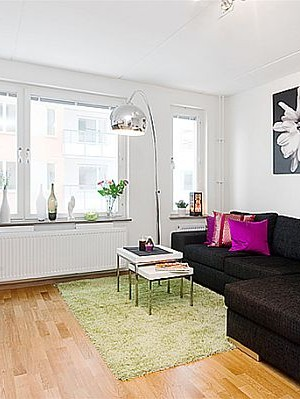 Small apartment interior design 1