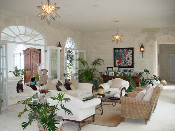 The Coral House on Grace Bay 3 Luscious Barbadian residence featuring exotic interior design