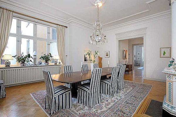 Traditional Swedish Apartment, Piece Of Heaven