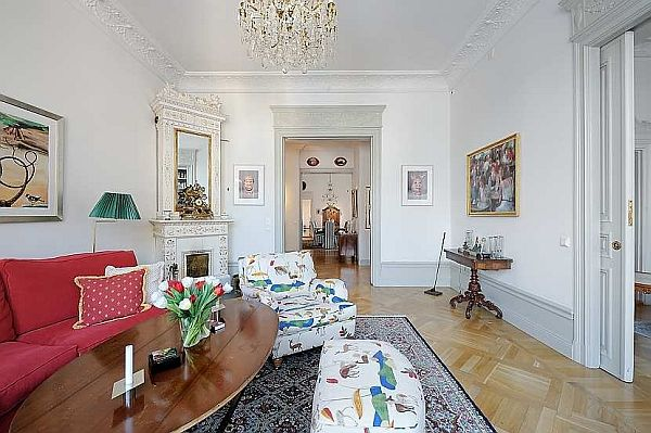 traditional swedish apartment piece of heaven