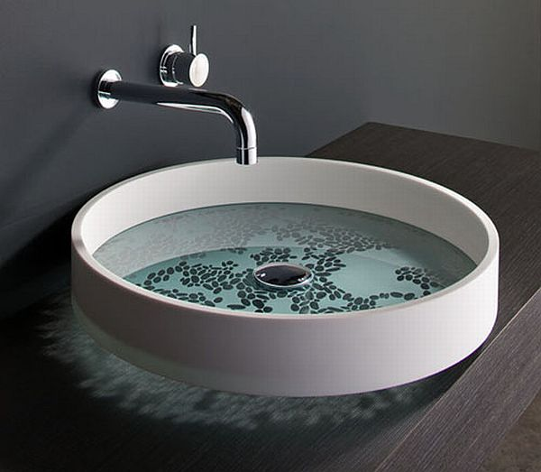 Sink Basin Bathroom : Zen Bathroom Basins 1 Zen Bathroom Basins Motif & KL by Omvivo