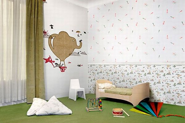 Children room wallpaper decoist Wallpaper for childrens room