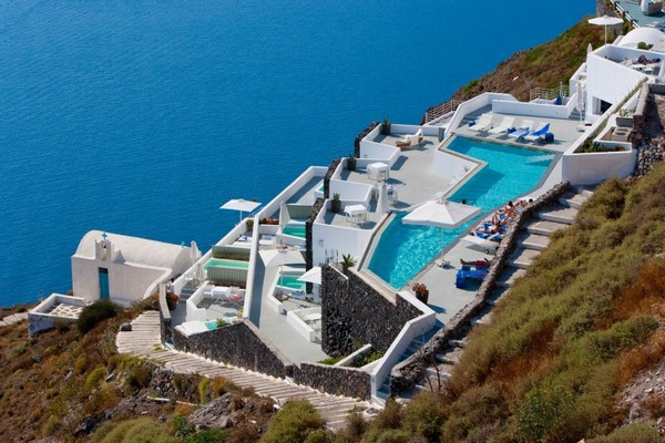 grace3 Mediterranean hotel design inspired by unique Santorini architecture