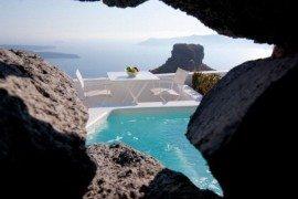 Mediterranean hotel design inspired by unique Santorini architecture