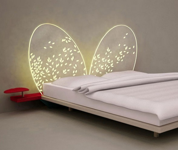 mariposa2 Innovative and dreamy bed headboard design
