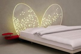 Innovative and dreamy bed headboard design
