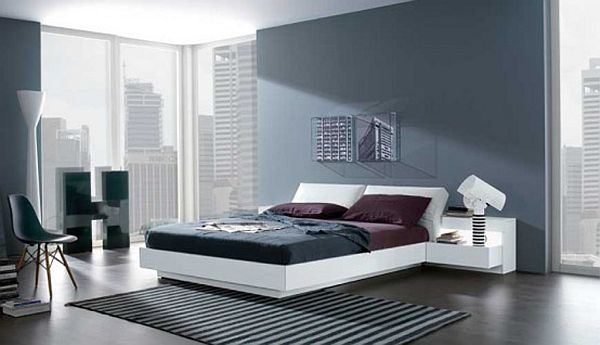 Modern bedroom paint ideas for a chic home for Bedroom colours ideas paint