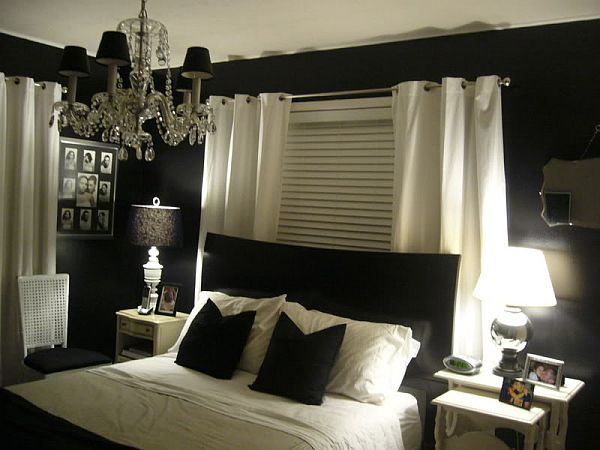 Paint Ideas Bedroom Endearing With Black and White Bedroom Design Photo