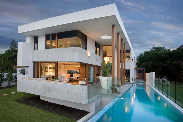 Amalfi Residence 2 Australian island dream house: the Amalfi Residence by BGD Architects