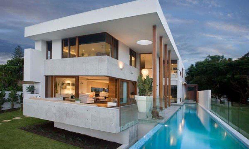 Australian island dream house: the Amalfi Residence by BGD Architects