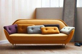 Shell-like sofa offers a unique seating experience: FAVN by Jaime Hayon