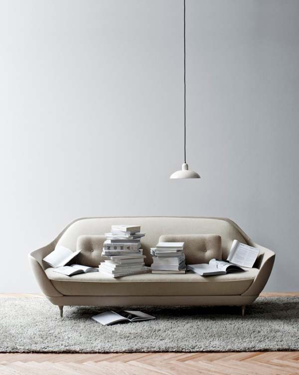 FAVN sofa Shell like sofa offers a unique seating experience: FAVN by Jaime Hayon