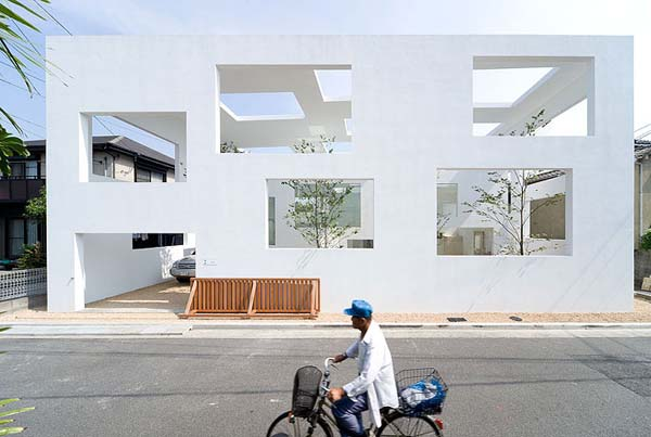 House N Innovative Japanese architecture: House N by Sou Fujimoto Architects