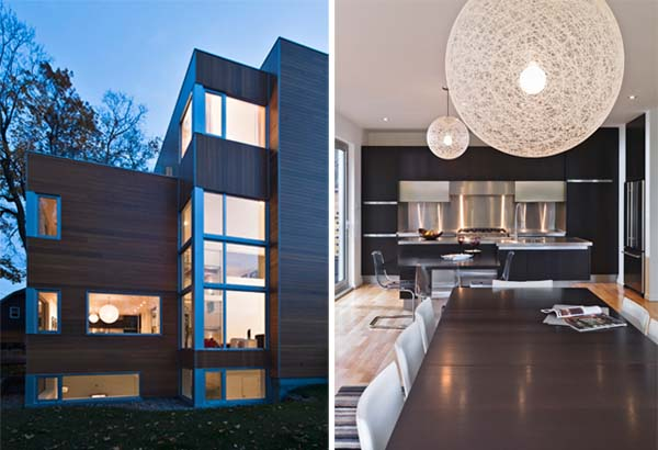 Lighthouse 2 Luxurious Ottawa residence featuring stacked private and public spaces