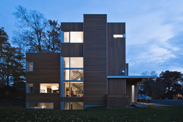 Lighthouse Luxurious Ottawa residence featuring stacked private and public spaces