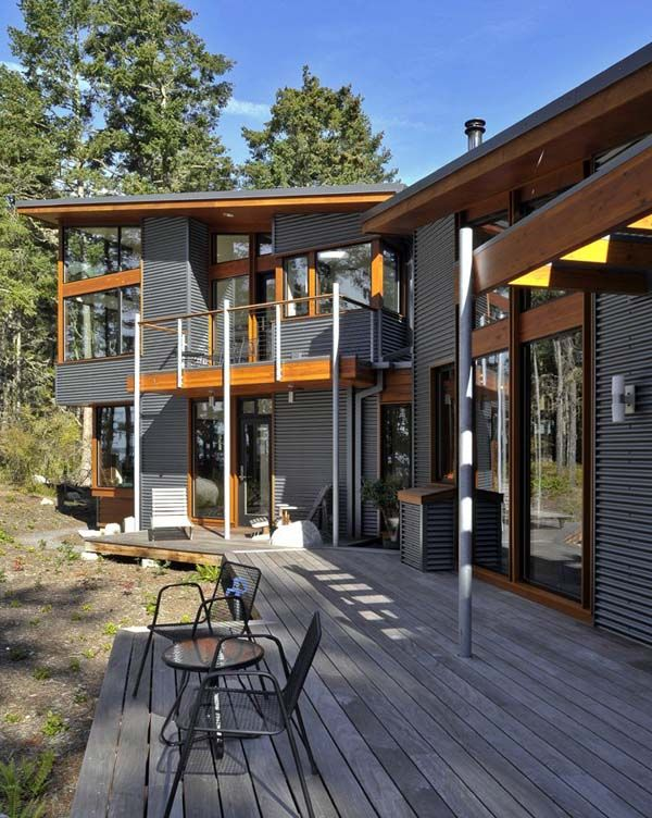 Lopez Island Residence 1 Heavenly House by David Vandervort Architects Lopez Island Residence