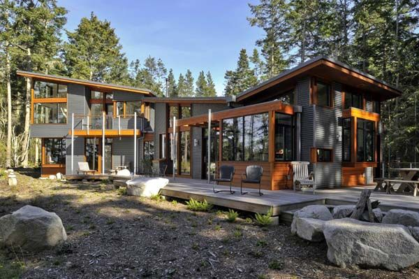 Lopez Island Residence 2 Heavenly House by David Vandervort Architects Lopez Island Residence