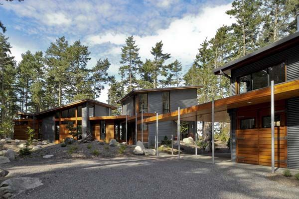Heavenly House By David Vandervort Architects Lopez Island