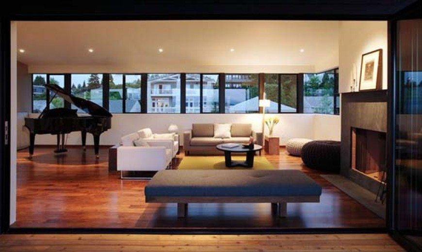 Modern residence in Seattle: the Magnolia House by Heliotrope Architects