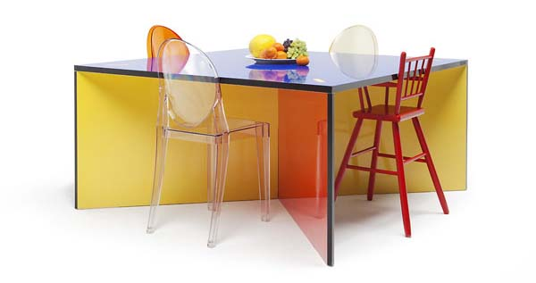 NzelaTable 4 Colourful and versatile furniture for a bright home: Nzela Table