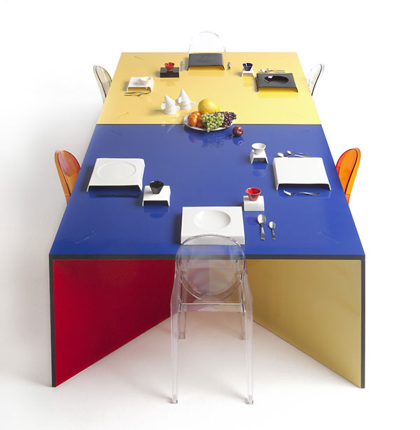 NzelaTable 5 Colourful and versatile furniture for a bright home: Nzela Table