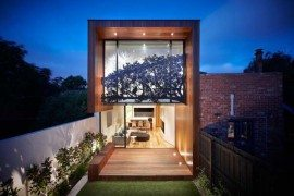 Exceptional detailing on the Treetop House designed by Matt Gibson Architecture