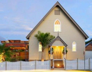 Old Brisbane heritage church transformed into a modern home