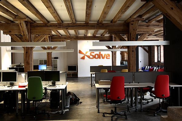 XSolve Office Design 1 Contemporary Classic Office Design: XSolve & Chilid From Poland
