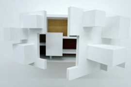 Amazing Psych Cabinet combining function and sculpture