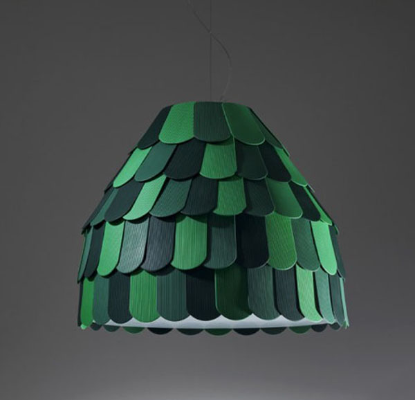 roofer 2 Creative and versatile light: Roofer Pendant Light by Benjamin Hubert