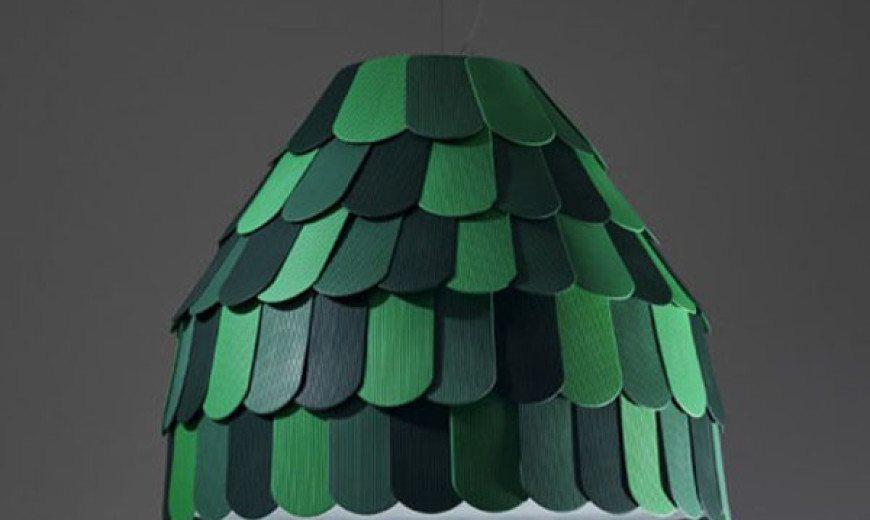 Creative and versatile light: Roofer Pendant Light by Benjamin Hubert