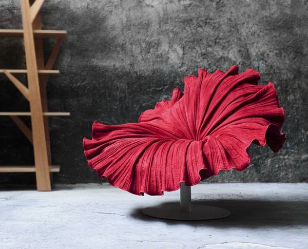 Bloom Chair 2 Exceptional flower like chair design from Kenneth Cobonpuere: Bloom Chair
