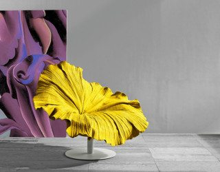 Exceptional flower-like chair design from Kenneth Cobonpuere: Bloom Chair