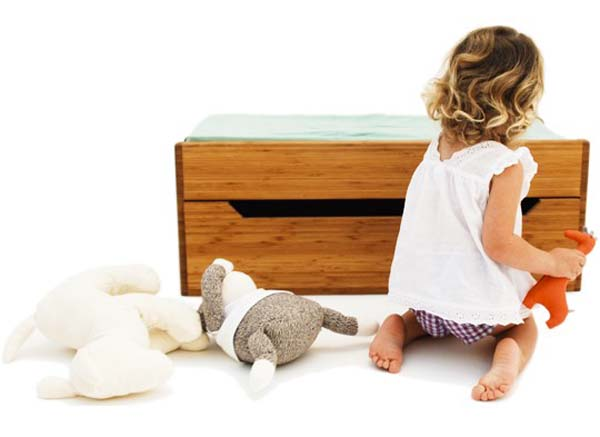 Changing Trunk 7 Beautiful piece of childrens furniture: Changing Trunk by Kalon Studios