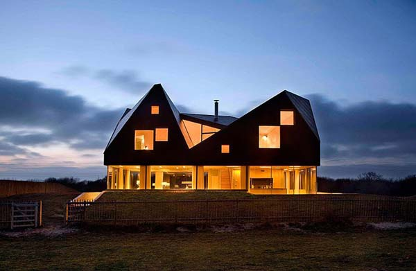 Dune House Fascinating contemporary architecture: Dune House by JVA and Mole Architects