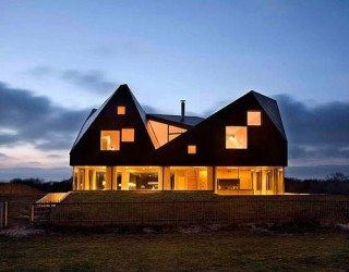 Fascinating contemporary architecture: Dune House by JVA and Mole Architects