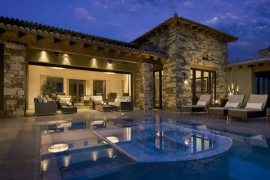 Traditional Eclectic Mountainside Estancia by Ownby Design