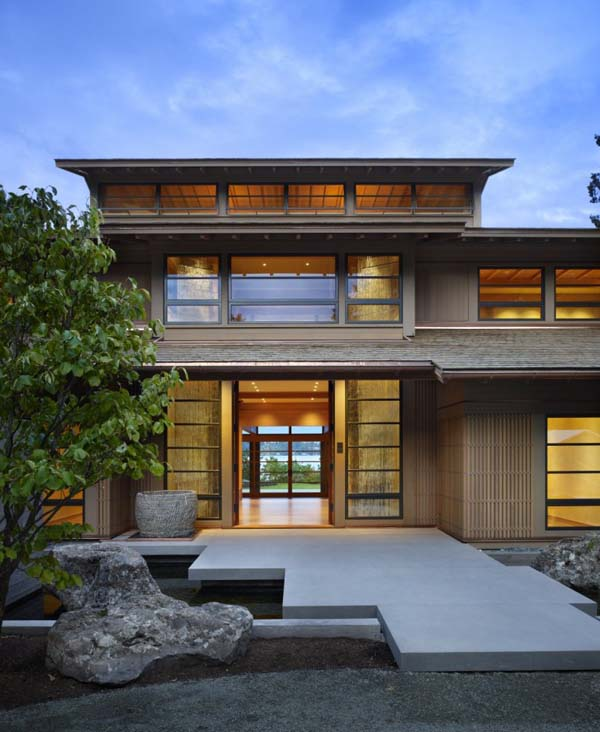 Astonishing Villa Design Inspired By Japanese Architecture