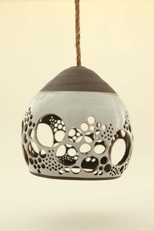 Heather levines ceramic hanging pendant lights view in gallery aloadofball Image collections