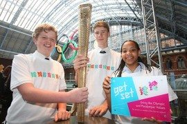 London 2012 Olympic torch design unveiled
