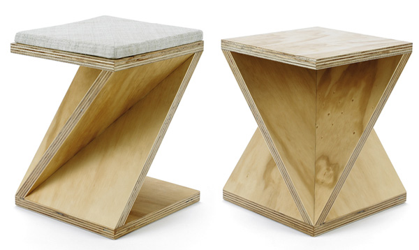 Michael Turner Furniture 2 Simple geometric furniture collection: Series 1a by Michael Turner