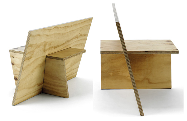Michael Turner Furniture 5 Simple geometric furniture collection: Series 1a by Michael Turner