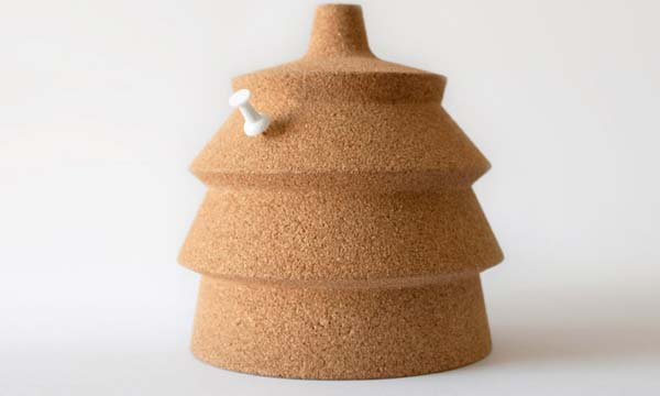 Pinha Lamp 4 Personalized eco friendly cork lamp for your home