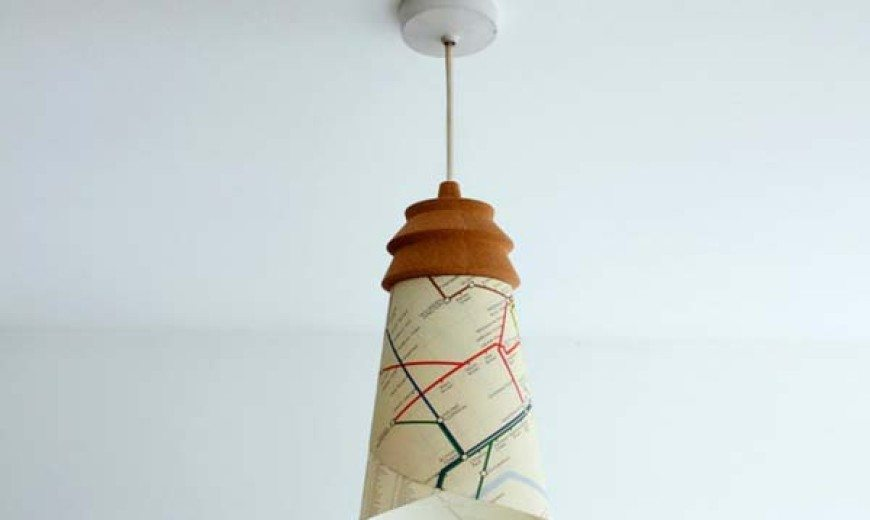 Personalized eco-friendly cork lamp for your home