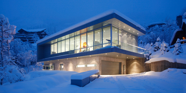Scholl 2 by Studio B 6 Ethereal Aspen residence with impressively simple architecture